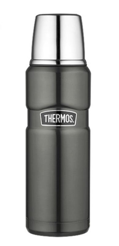 Termoska na nápoje Thermos Style metalicky sivá 170014