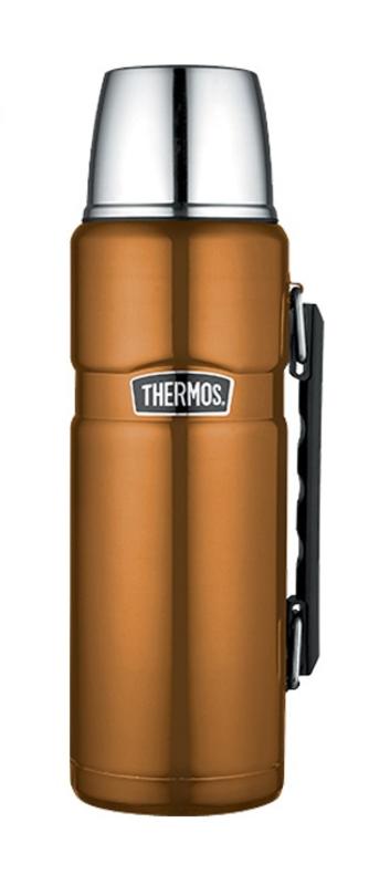 Termoska na nápoje s madlom Thermos Style medená 170023