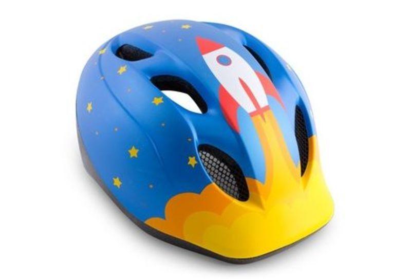 MET helma SUPER BUDDY 2019 detská raketa / modrá