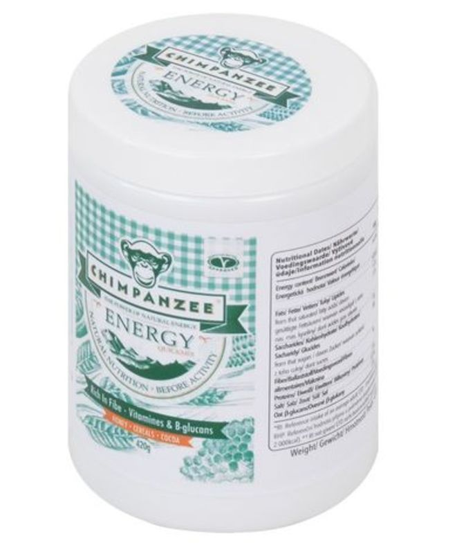 CHIMPANZEE QuickMIX ENERGY Honey cereals Kakao 420g