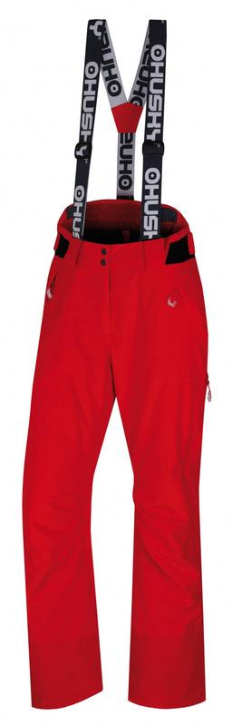 Dámske lyžiarske nohavice Husky Mital L červená