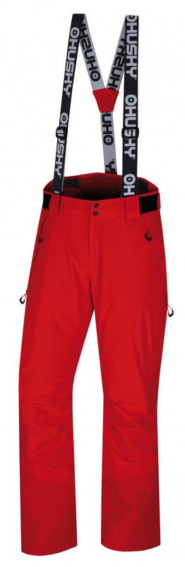 Pánske lyžiarske nohavice Husky Mital M červená