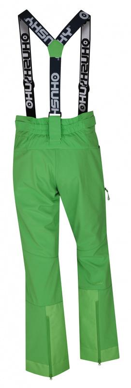 Dámske lyžiarske nohavice Husky GALT L zelená