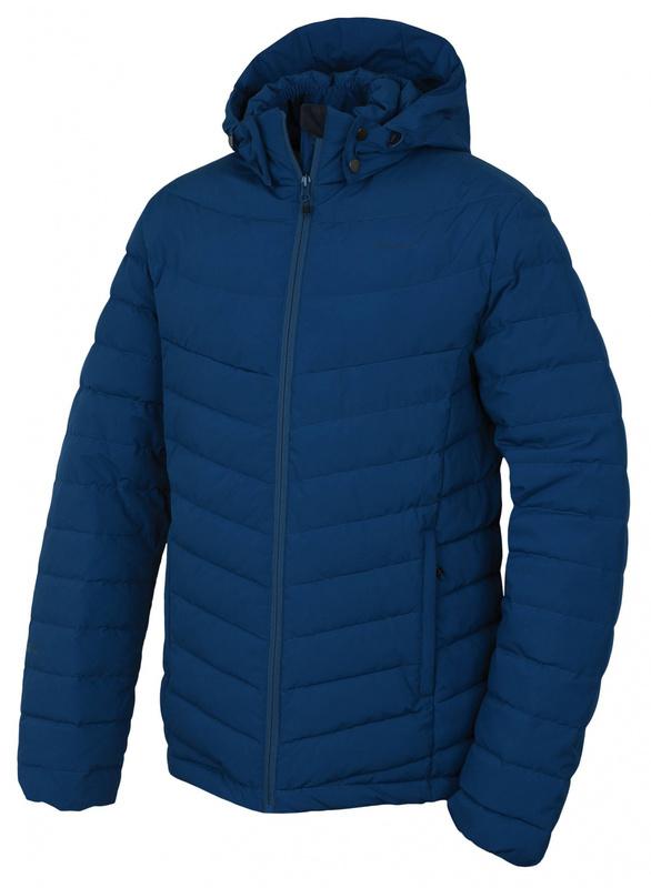 Pánska páperová bunda Husky Donnie M modrá L