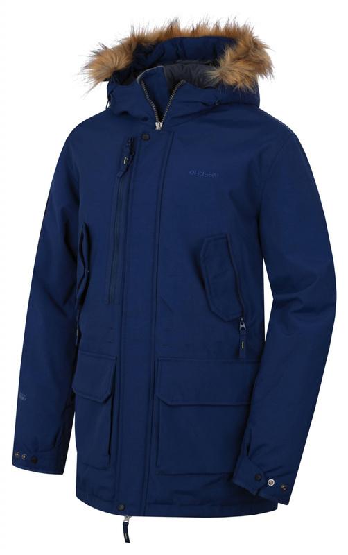 Pánsky kabát Husky Nelidas M tm. modrá M