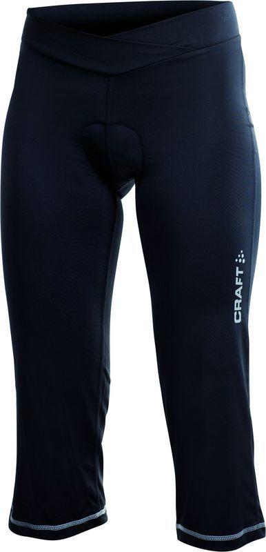 Dámske 3/4 cyklistické nohavice Craft Active Loose Fit 1900691-9999