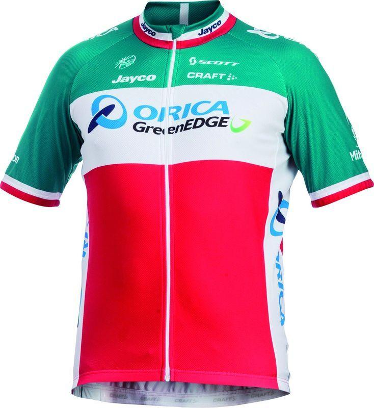 Pánsky cyklistický dres Craft Orica GreenEdge 1903447-3600