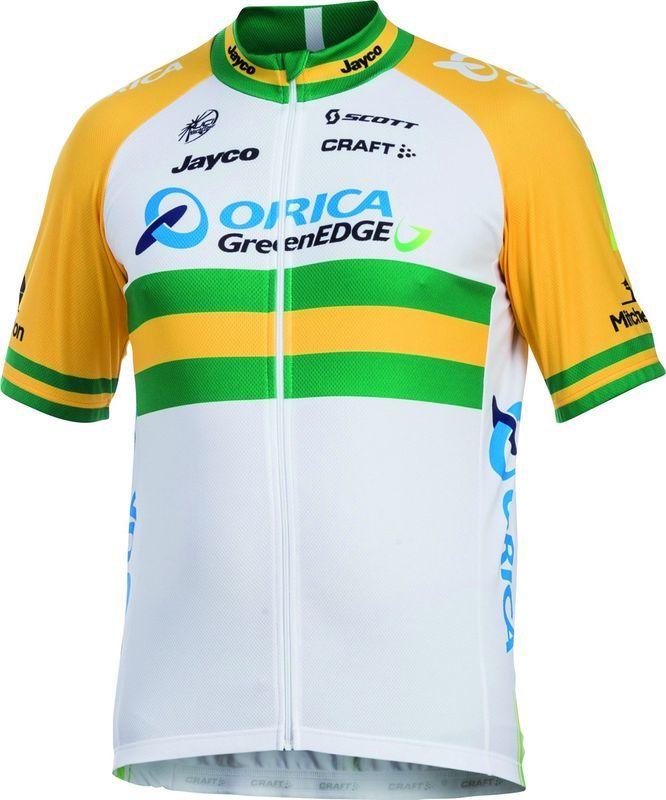 Pánsky cyklistický dres Craft Orica GreenEdge 1903447-3900