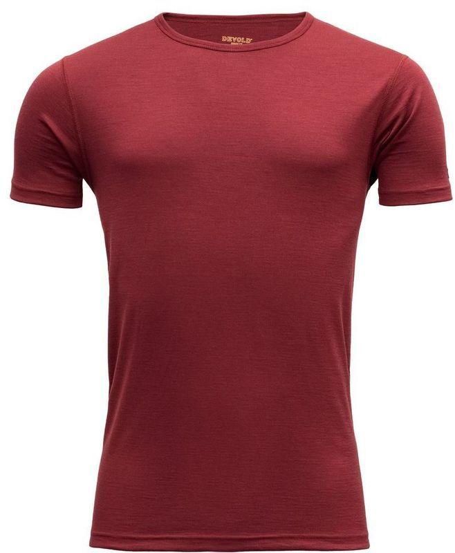 Pánske triko Devold Breeze Man T-shirt GO 180 210 A 083A
