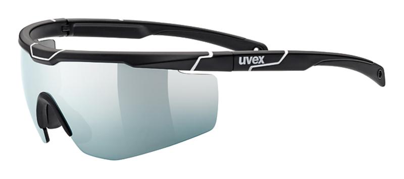 Športové okuliare Uvex SPORTSTYLE 117 Black Mat White (2816)