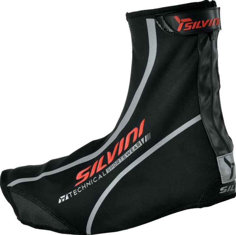 Cyklistické návleky na topánky Silvini TUBO UA218 black