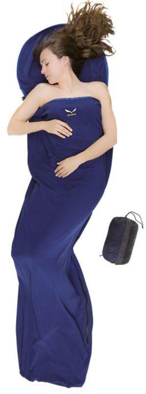 Obliečky Salewa Microfleece Liner Zips Silverized 3507-8491