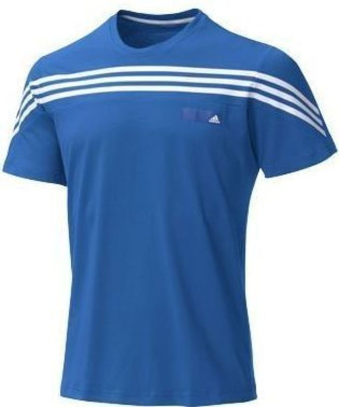 Tričko adidas Seasonal Favourite 3 Stripes S-S Tee X22154 XXL