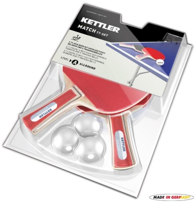 Pálky na stolný tenis Kettler Match 7091-500