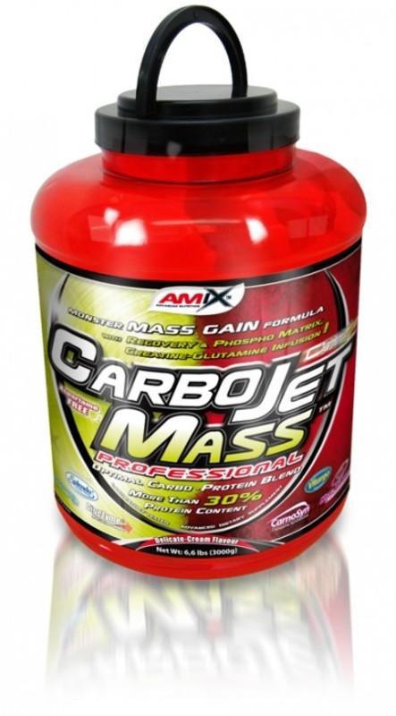 Amix CarboJet™ Mass Pro 30 - Jahoda-banán