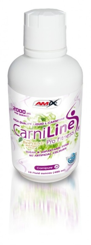 Redukcia hmotnosti Amix CarniLine ® Pro Fitness 2000 lqd. 480ml - Ananás