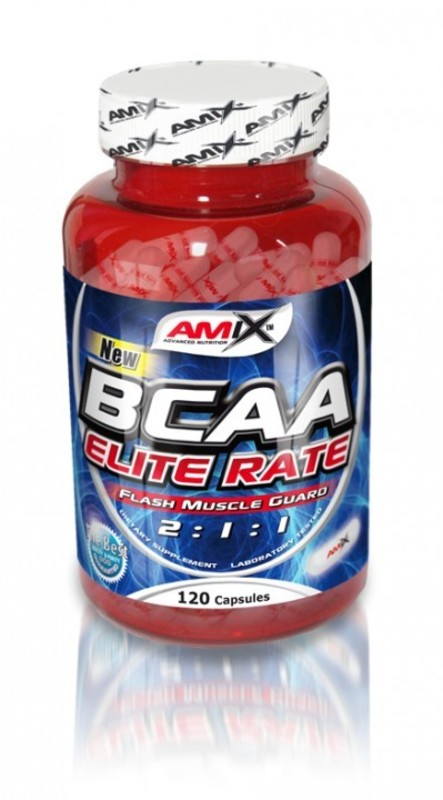 Amix BCAA Elite Rate - 500kapslí