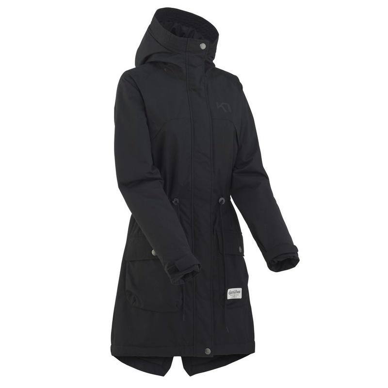 89e8b4aa66c6 Dámsky nepremokavý kabát Kari Traa Tesdal Black M
