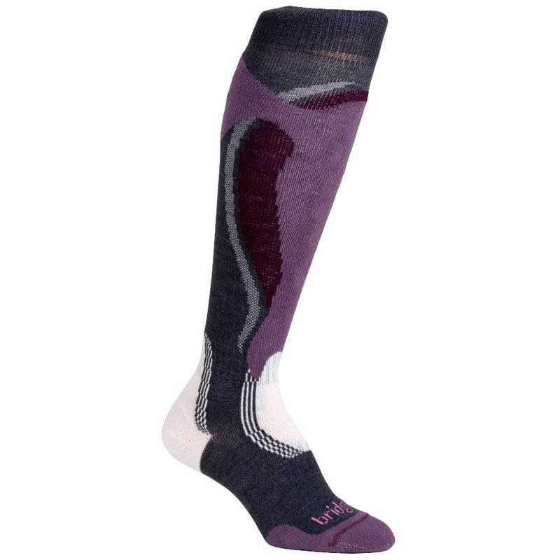 Ponožky Bridgedale Control Fit Midweight Women s 871 gunmetal   plum L (7-8 c288bcf3d7
