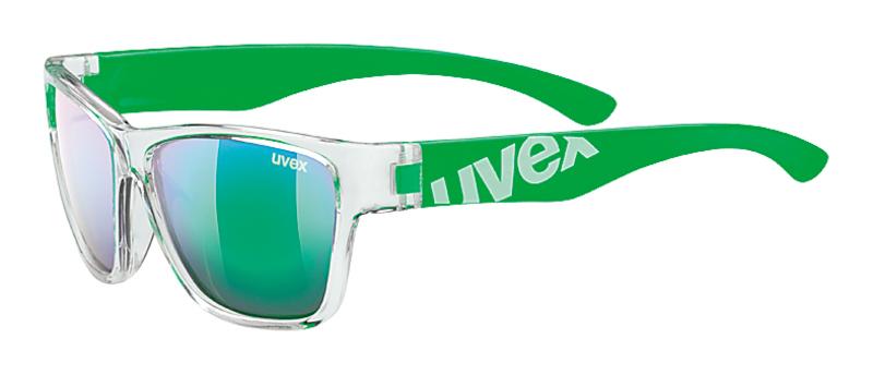 Slnečný okuliare Uvex Sportstyle 508 Clear Green / Mirror Green (9716)