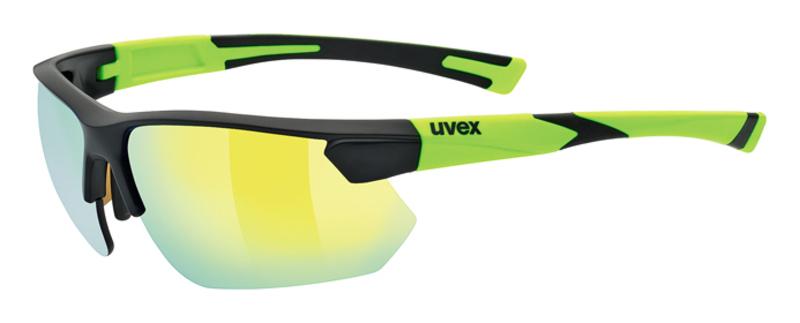 Športové okuliare Uvex SPORTSTYLE 221, Black Mat Yellow (2616)