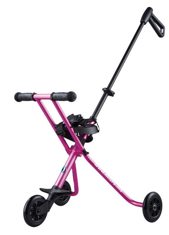Detské vozítko Micro Trike Deluxe Pink