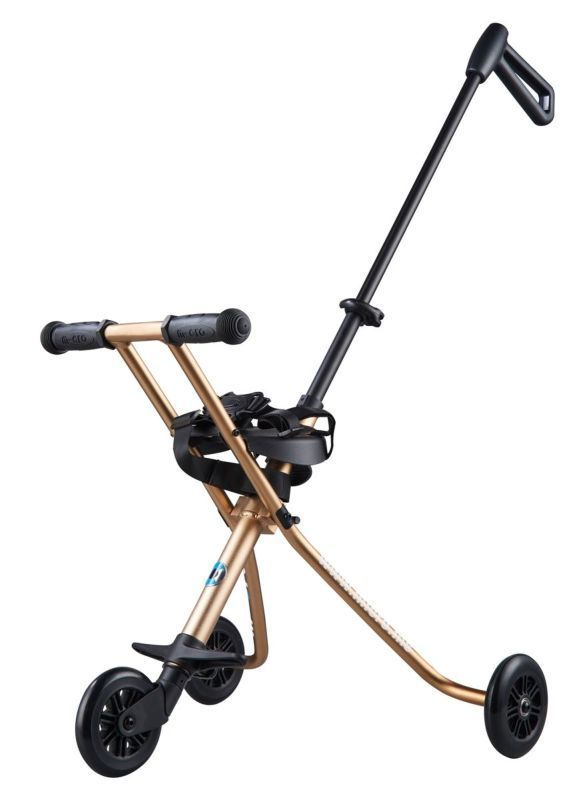 Detské vozítko Micro Trike Deluxe Gold
