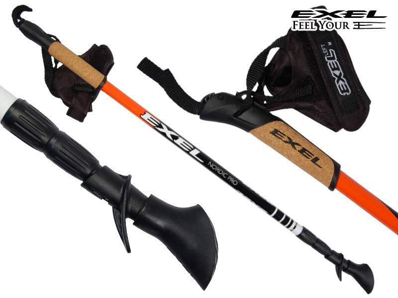 Nordic walking palice Exel NORDIC PRO Adj. - World Cup