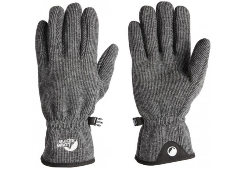 Rukavice Lowe Alpine Oxford Glove charcoal S