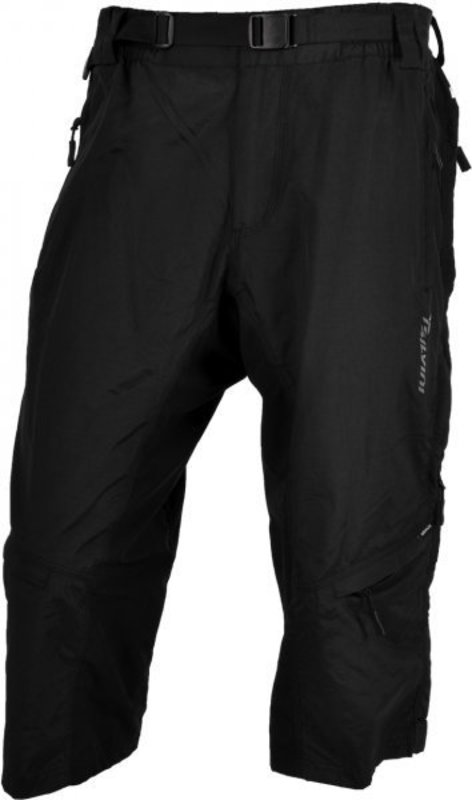 Pánske 3/4 MTB cyklistické nohavice Silvini Rango MP374 black
