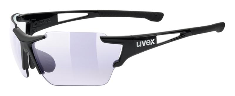 Športové okuliare Uvex SPORTSTYLE 803 RACE VM Black (2203)