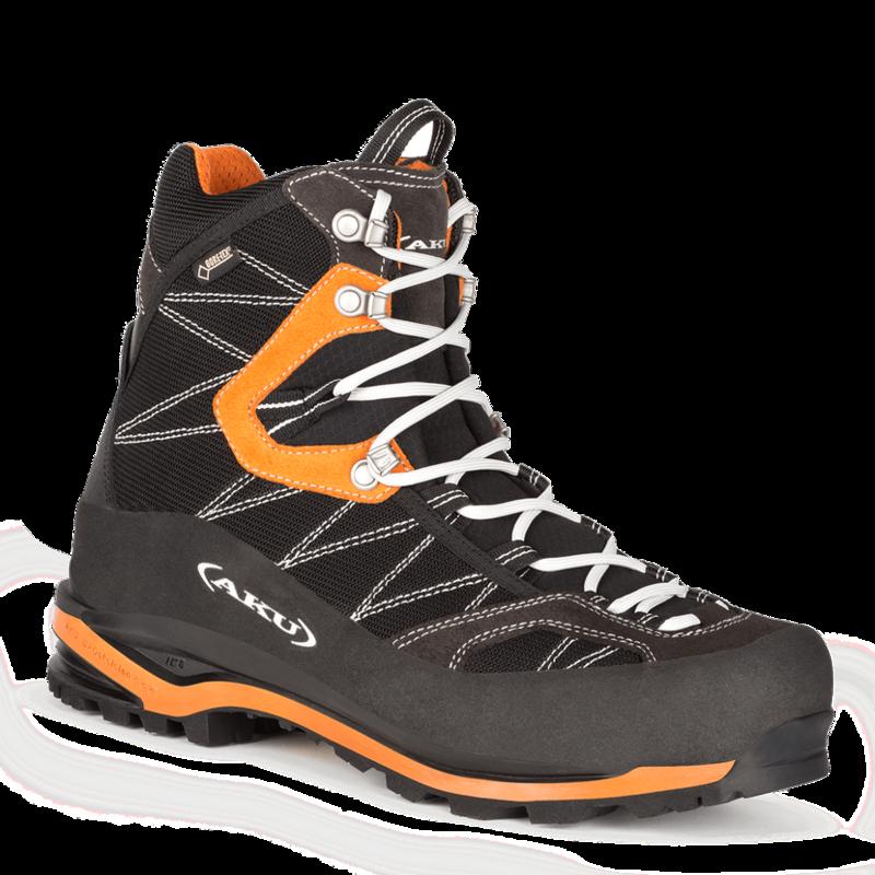 Topánky AKU TENGU GTX čierna/oranžová