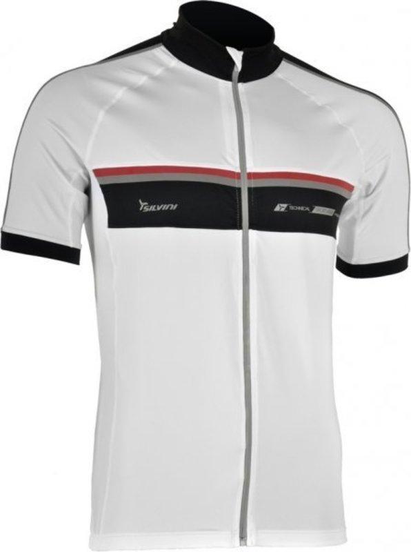 Pánsky cyklistický dres Silvini Accrone MD454 white