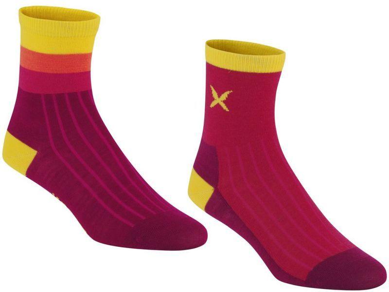 Ponožky Kari Traa Storeta Sock 2PK RUBY S