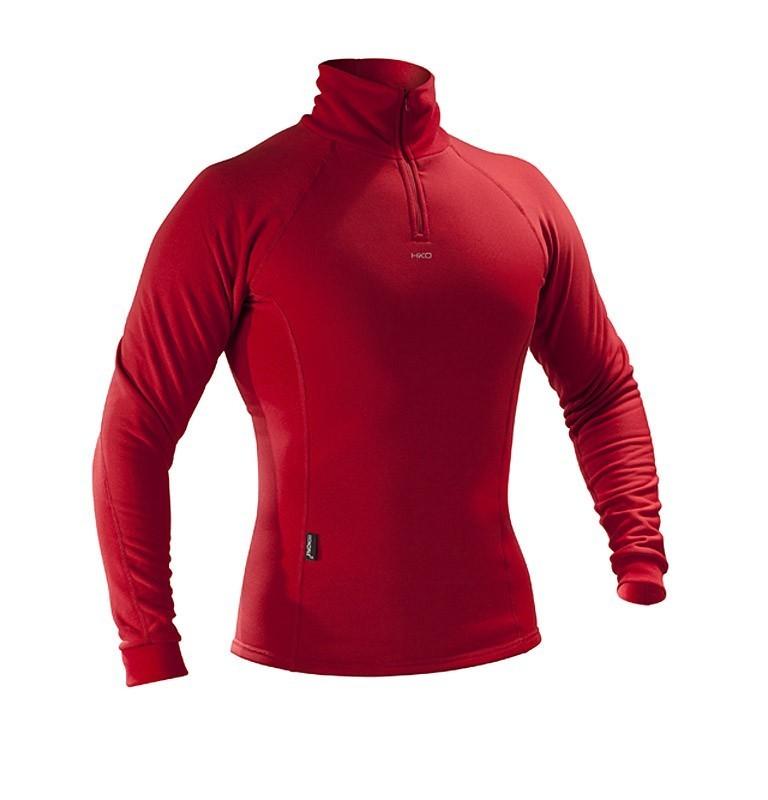 Tričko Hiko Šport Teddy zipper 33301 červené XXL