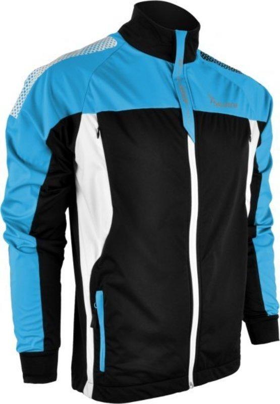Pánska softshellová bunda Silvini Montagno MJ415 black/hawaii S