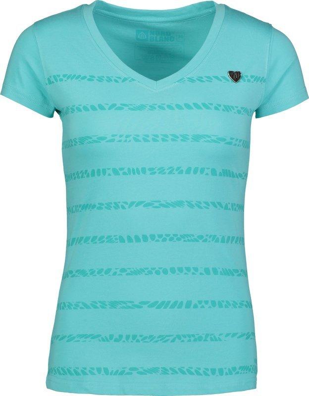 Dámske bavlnené tričko NORDBLANC Sort NBSLT6731_MAG 36