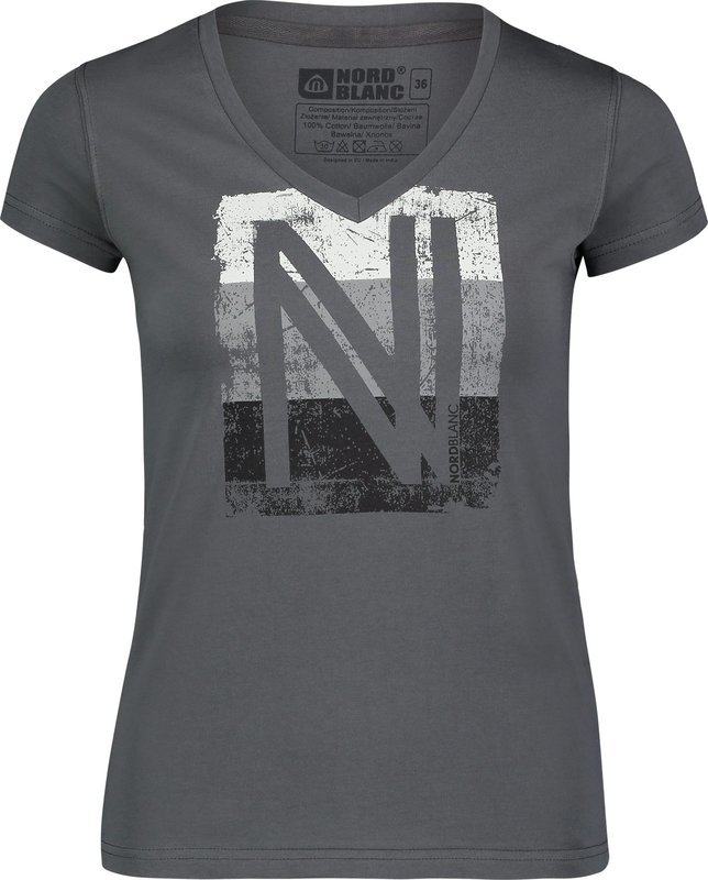 Dámske bavlnené tričko NORDBLANC coating NBSLT6739_SKR 34