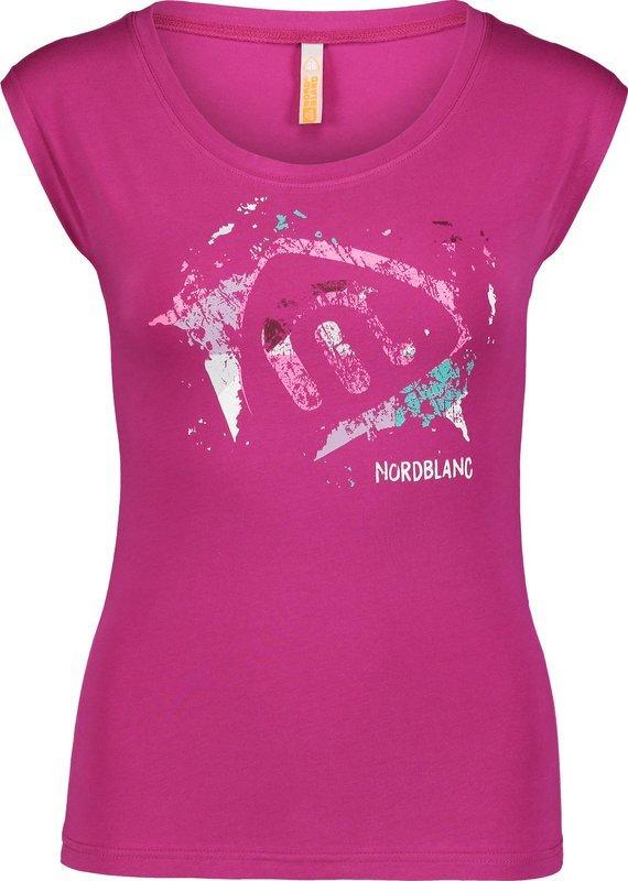 a1be2569d6e0 Dámske elastické tričko NORDBLANC Quiver NBSLT6745 PRE 36