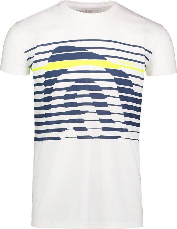 Pánske bavlnené tričko NORDBLANC Funky NBSMT6807_BLA XL