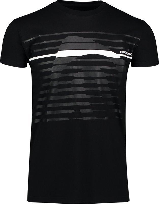 Pánske bavlnené tričko NORDBLANC Funky NBSMT6807_CRN XL