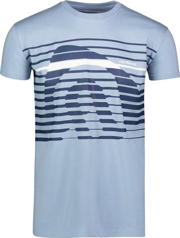 Pánske bavlnené tričko NORDBLANC Funky NBSMT6807_MRS XL