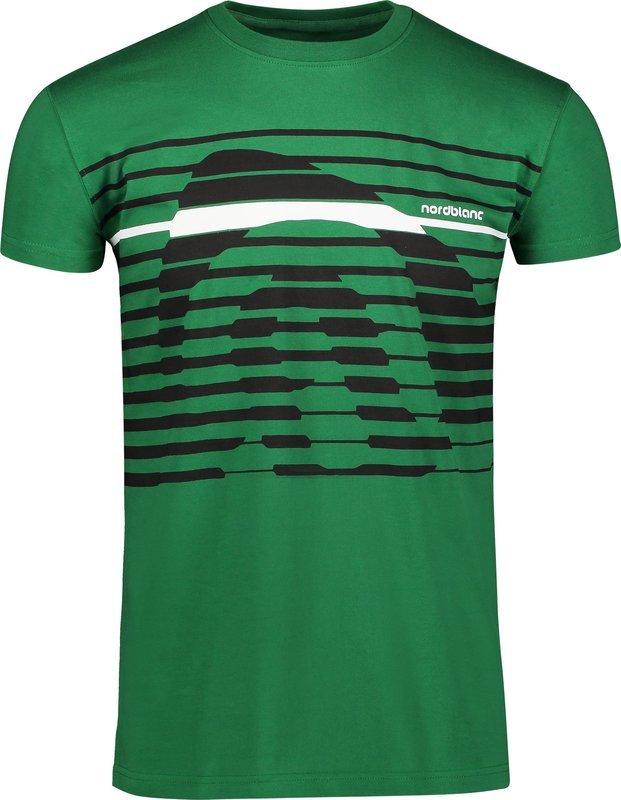 Pánske bavlnené tričko NORDBLANC Funky NBSMT6807_ZME XL