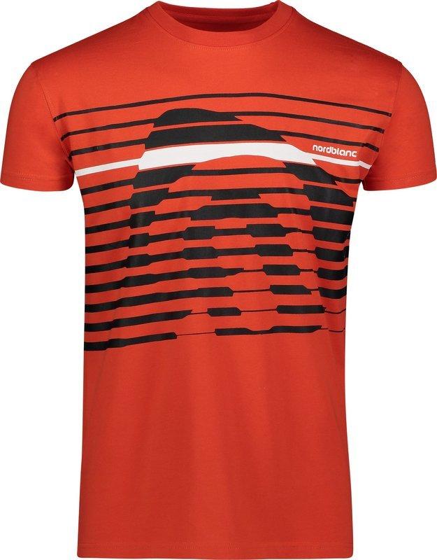 Pánske bavlnené tričko NORDBLANC Funky NBSMT6807_ZRC XL