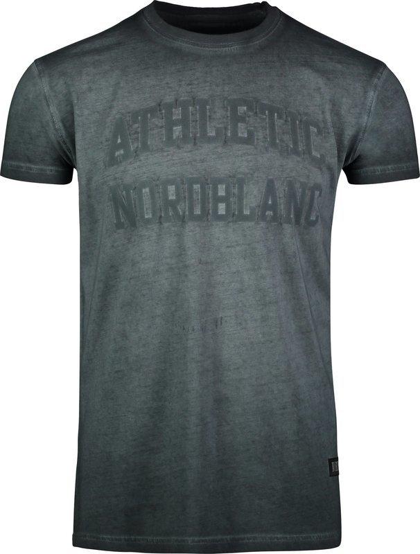 Pánske bavlnené tričko NORDBLANC Rivalry NBSMT6808_GRA XL