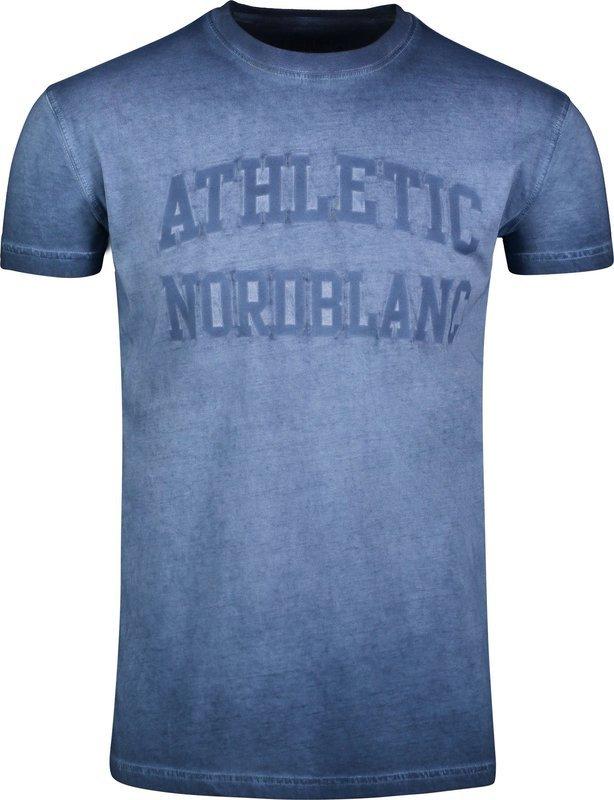 Pánske bavlnené tričko NORDBLANC Rivalry NBSMT6808_MHZ XL