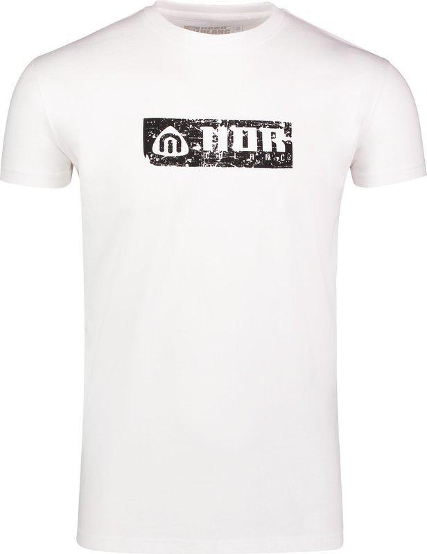 Pánske bavlnené tričko NORDBLANC Beeline NBSMT6809_BLA XL