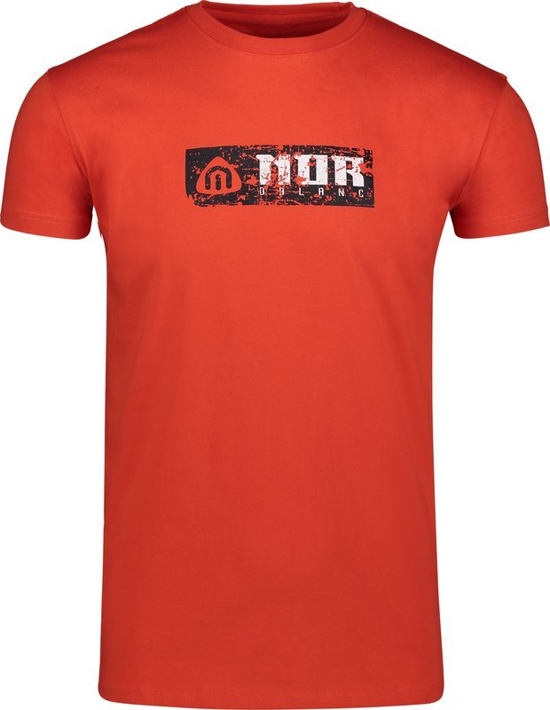 Pánske bavlnené tričko NORDBLANC Beeline NBSMT6809_ZRC XL