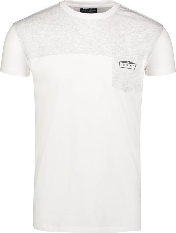 Pánske bavlnené tričko NORDBLANC Zoot NBSMT6810_BLA XL