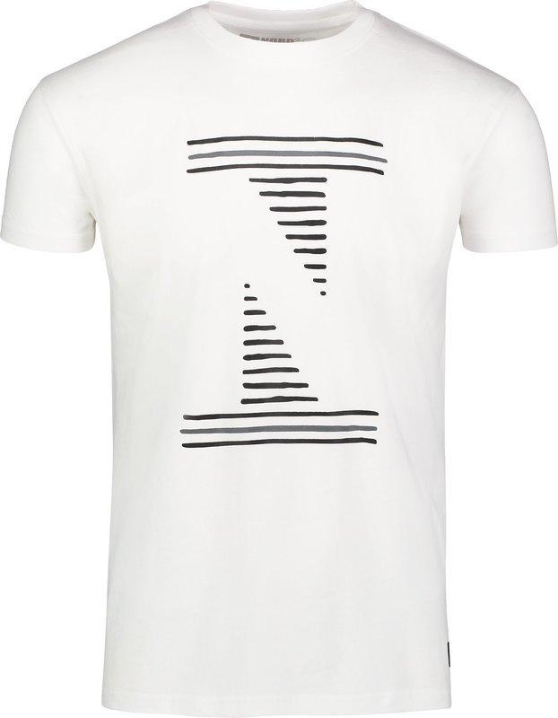 Pánske bavlnené tričko NORDBLANC Louvre NBSMT6811_BLA XL